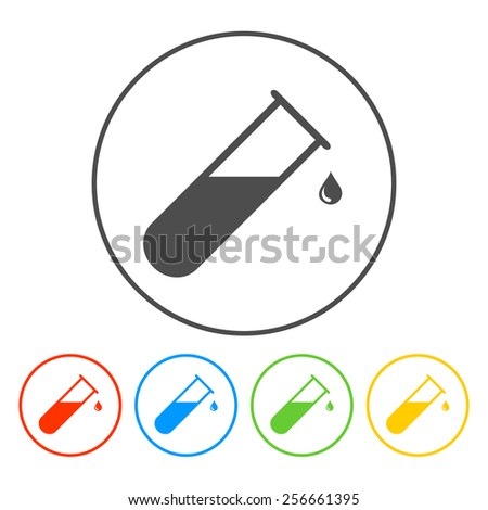 Medical Flat Icon Vector Pictogram. EPS 10. - stock vector