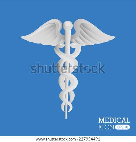 medical graphic design , vector illustration - stock vector