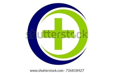 Medical Health Solutions Center Stock Vector 736818427 Shutterstock