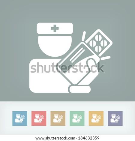 Medical icon - stock vector