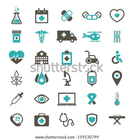 Medical Icon - Color - stock vector