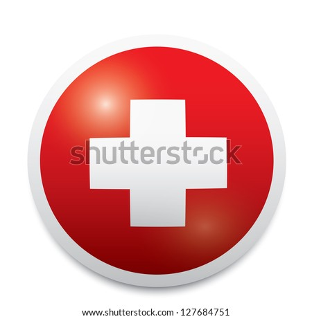 Medical icon. Vector - stock vector