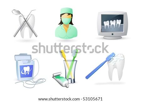 Medical icons | Dentistry - stock vector