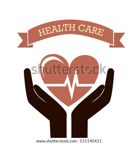 medical icons over white background vector illustration - stock vector