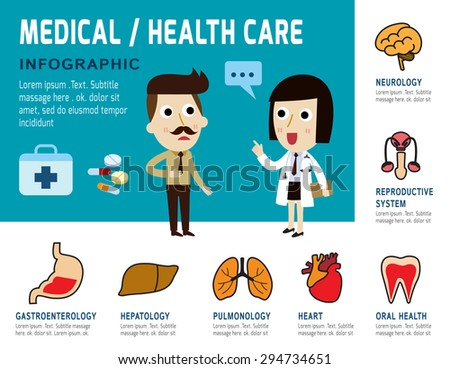 medical infographic Concept,