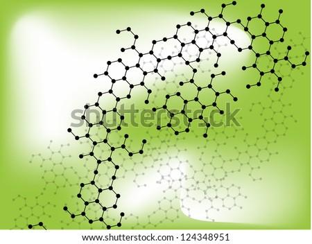 Medical Molecular cell vectors. - stock vector