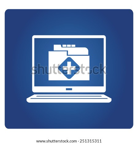 medical record - stock vector