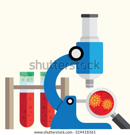 medical research background. - stock vector