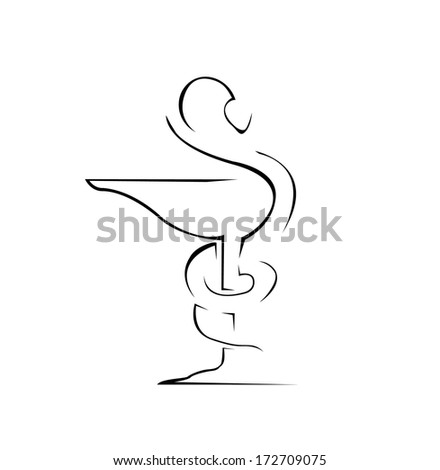 Medical Sign Simple Symbol - stock vector