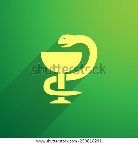 Medical symbol vector icon - stock vector