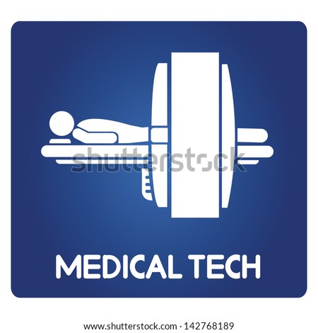 medical technology - stock vector