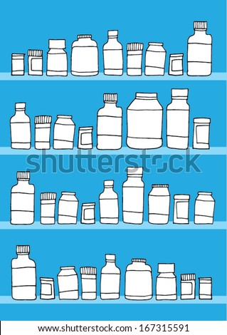 medical themed vector/wallpaper background - stock vector