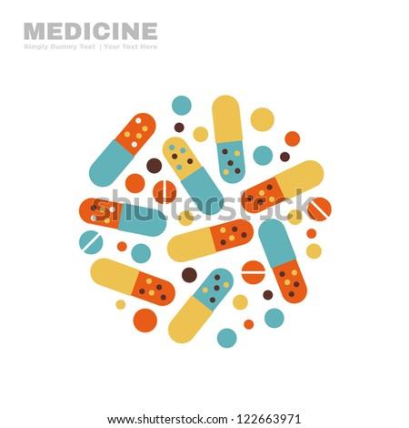 Medicine - stock vector