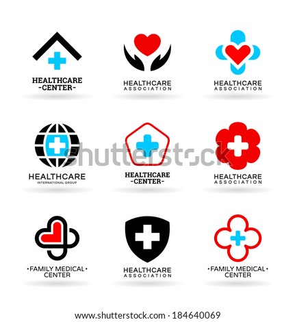 Medicine and Healthcare (6) - stock vector