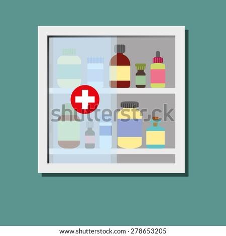 Desktop Apothecary Cabinet Distinctive Apothecary Style