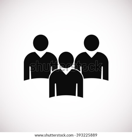 meeting Icon. meeting Icon Vector. meeting Icon Art. People icon - stock vector