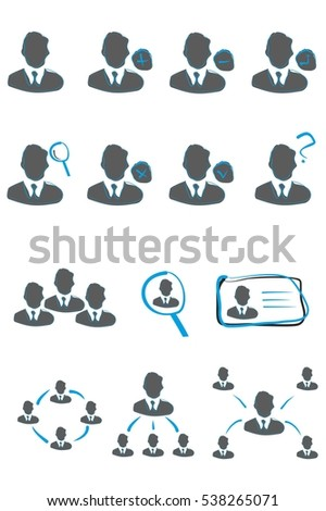 Members Business, Profile icons, users vector