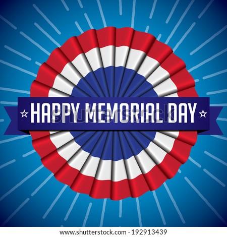 Memorial Day - stock vector