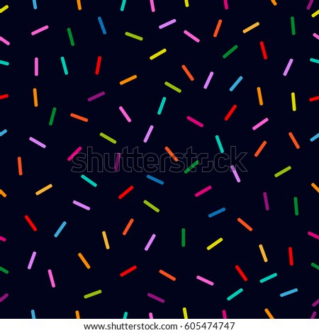 Memphis Style Seamless Dotted Vector Pattern Stock Vector ...