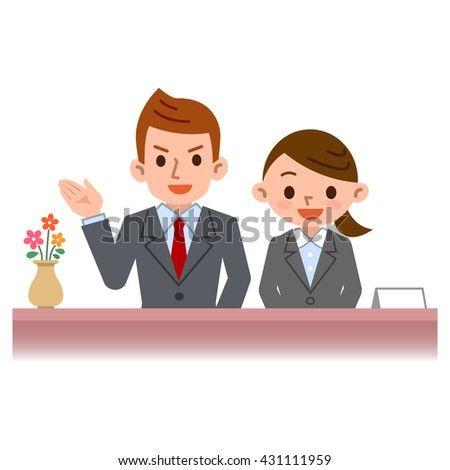 Men and women of acceptance - stock vector