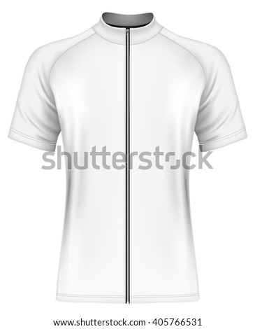 Cycling jersey stock images royalty free images vectors mens short sleeve cycling jersey fully editable handmade mesh vector illustration pronofoot35fo Image collections