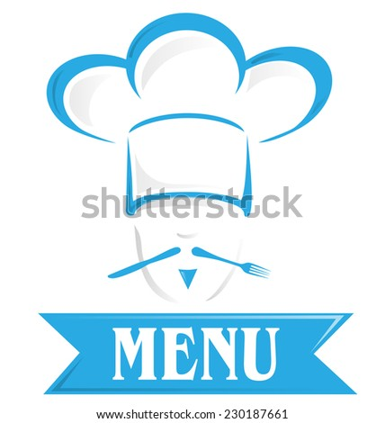 menu symbol isolated on white background - stock vector