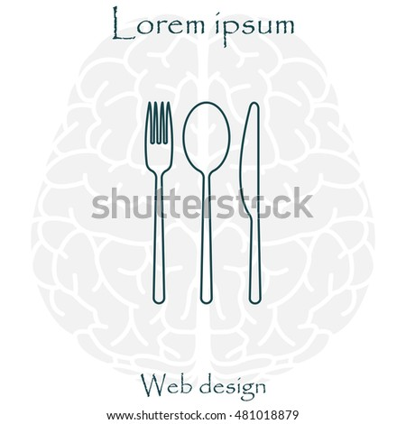 menu vector line icon