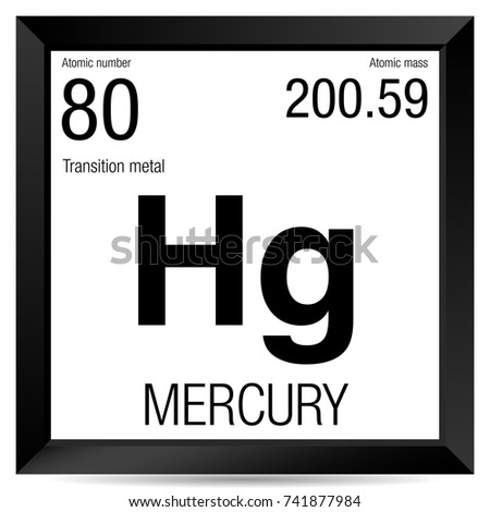 Mercury symbol element number 80 periodic stock vector 741877984 mercury symbol element number 80 of the periodic table of the elements chemistry urtaz Image collections