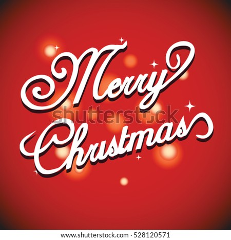 Merry Christmas and Happy New Year greeting card design vector