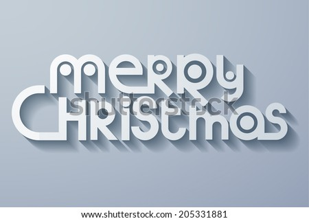 Merry christmas background. Vector eps10