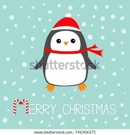 merry christmas candy cane text kawaii stock vector royalty free