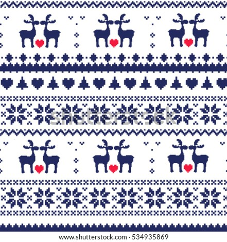 Fair Isle Pattern Stock Images, Royalty-Free Images & Vectors ...