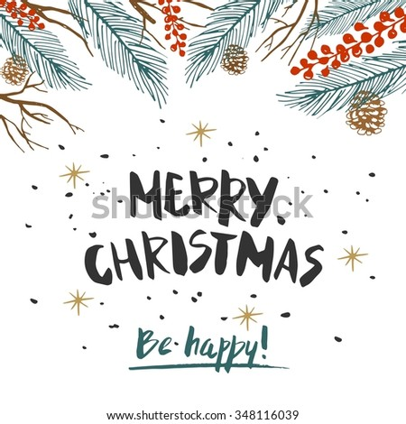 Christmas Typography Stock Images Royalty Free Images