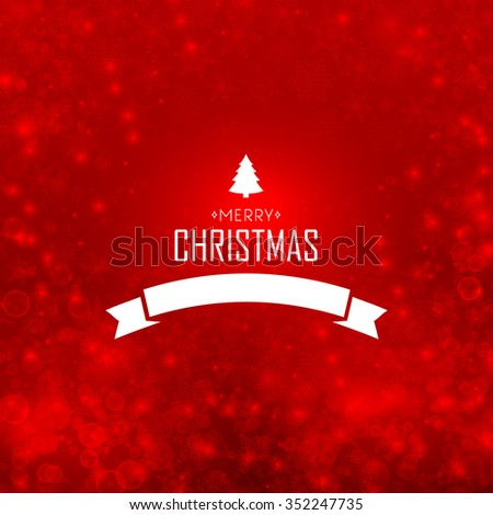 Merry christmas design concept in the hand drawing style. Vector Illustration, eps10, contains transparencies. - stock vector