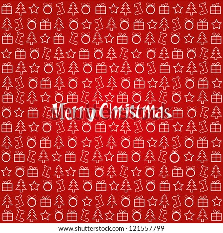 Merry Christmas Festive Background.pattern