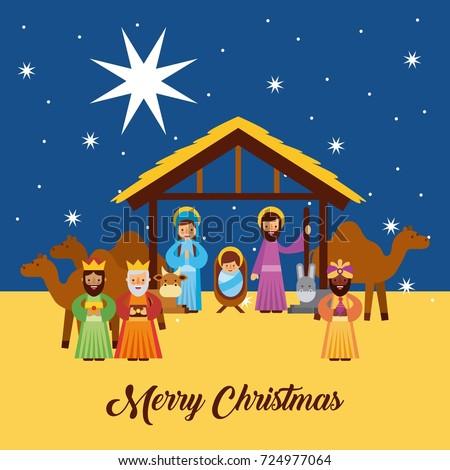 Merry christmas greetings jesus born manger stock vector 724977064 merry christmas greetings jesus born manger stock vector 724977064 shutterstock m4hsunfo