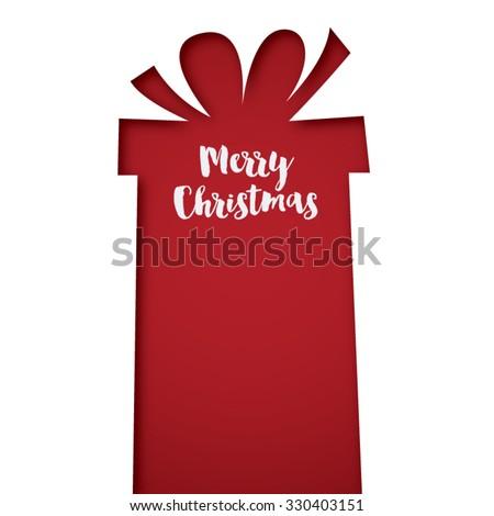 Merry christmas presents vector - stock vector