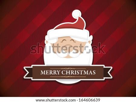 Merry Christmas Santa Claus - stock vector
