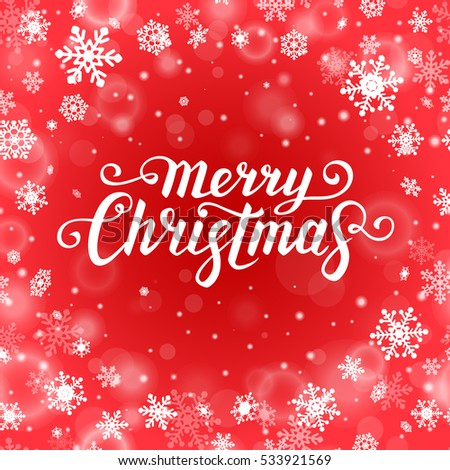 Christmas Monochrome Card Design Greeting Stock Images, Royalty