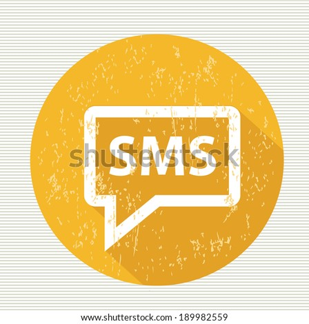 Message symbol,vector - stock vector