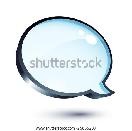 Messenger Window - stock vector