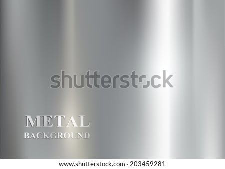 metal background - stock vector