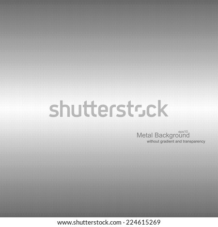 Metal background EPS10. Vector illustration does not contain gradients and transparency - stock vector