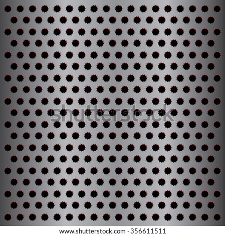 Metal background.Geometric shapes.Metal texture