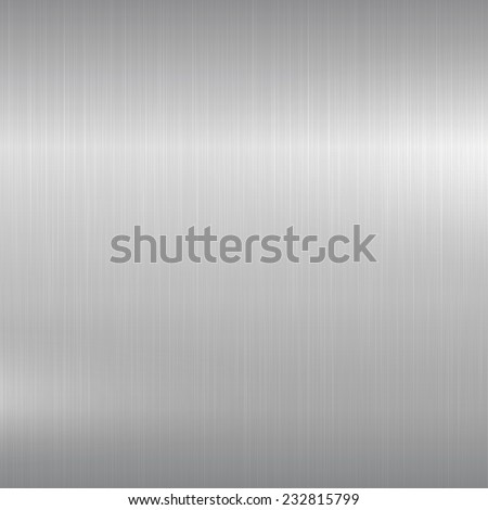 Metal background. Polished chrome surface. Eps10 - stock vector