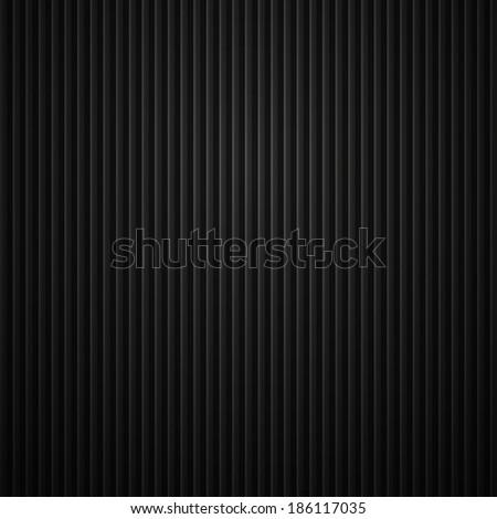 Metal background, vector dark texture - stock vector