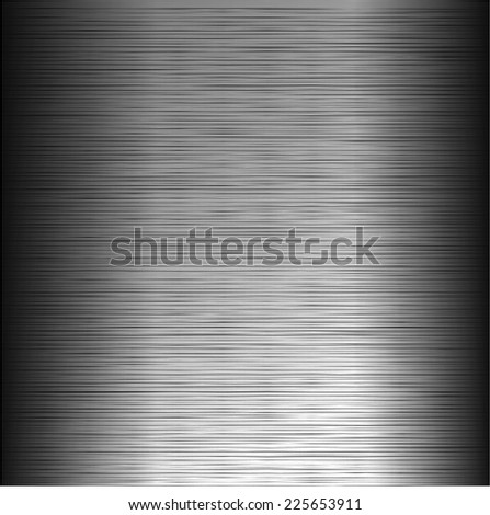 Metal background. Vector illustration. - stock vector