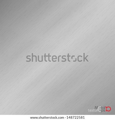 Metal Background. Vector illustration. Eps 10. - stock vector