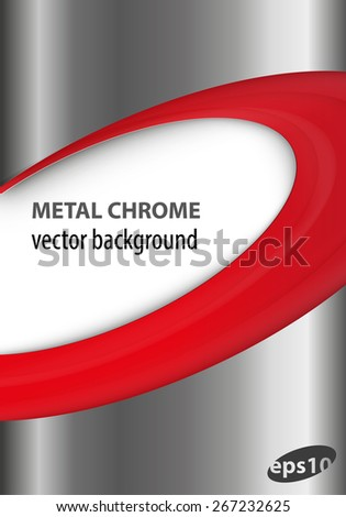 metal chrome vector background