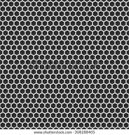 Metal grill seamless pattern background. Vector illustration